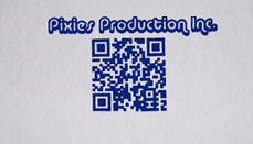 Pixies Production Inc. Shirt Front